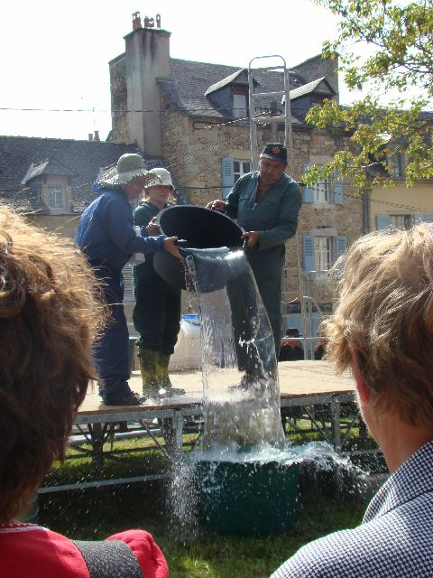 le grand retour de la cascade de Salles-la-Source