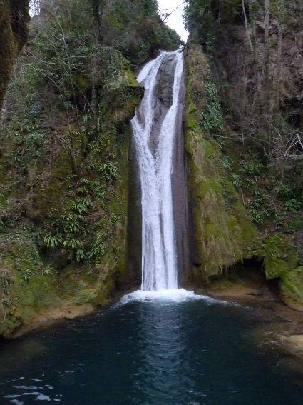 cascade de la crouzie à Salles-la-Source