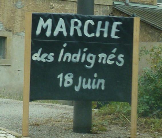 marche-des-indignés de Salles-la-Source