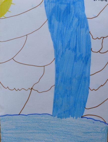Images Du 1er Mai Quand Les Enfants Dessinent La Cascade