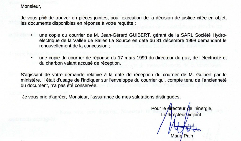 reponse-ministere-courrier