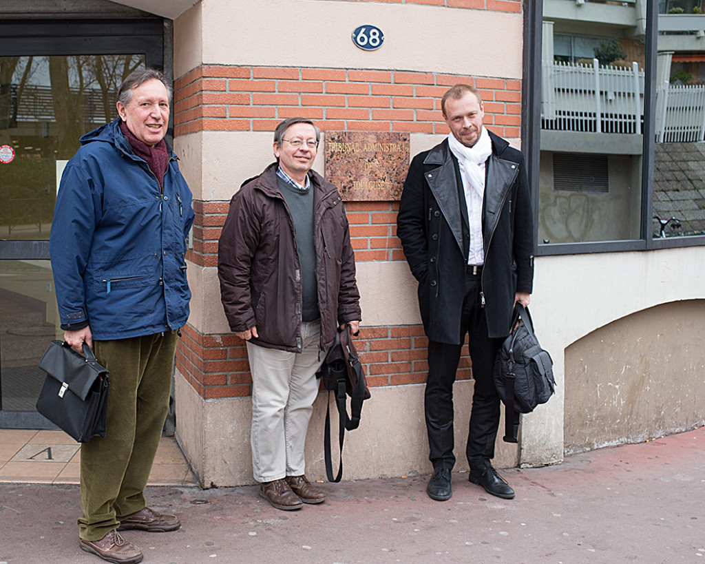JP Bauguil, B Gauvain et Jean-Marc Maillot TA Toulouse - 26 janvier 2015