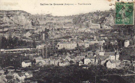 vue du village carte 1916